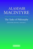 The Tasks of Philosophy