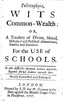 Politeuphuia, Wits Common-Wealth. Newly corrected and enlarged. [By Nicholas Ling.] ebook