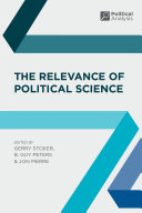 The Relevance of Political Science Pdf/ePub eBook