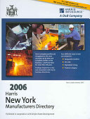 2006 Harris New York Manufacturers Directory Book PDF