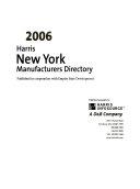 2006 Harris New York Manufacturers Directory Book
