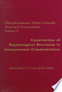 Construction of Psychological Processes in Interpersonal Communication