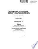 Determination of the Effectiveness and Feasibility of Regenerative Braking Systems on Electric and Other Automobiles  Summary