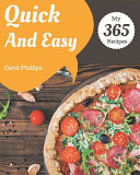 My 365 Quick And Easy Recipes
