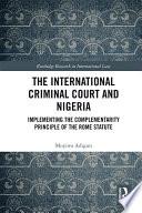 The International Criminal Court And Nigeria