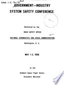 Government industry System Safety Conference