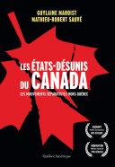 Pdf Les États-Désunis du Canada Telecharger