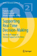 Pdf Supporting Real Time Decision-Making