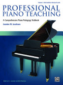 Professional Piano Teaching  Volume 2
