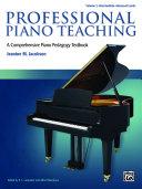 Professional Piano Teaching, Volume 2 [Pdf/ePub] eBook