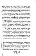 Santa Barbara Portuguese Studies