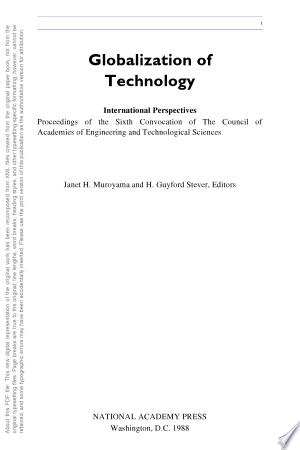 Globalization+of+Technology