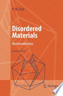 Disordered Materials Book PDF