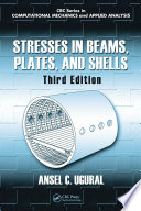 Stresses in Beams  Plates  and Shells  Third Edition