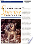 Endangered Species Technical Bulletin