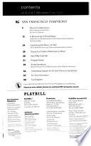 San Francisco Symphony Playbill