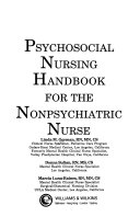 Psychosocial Nursing Handbook for the Nonpsychiatric Nurse Book