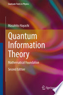 Quantum Information Theory Book