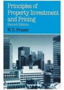 Principles of Property Investment and Pricing