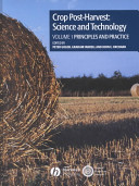 Crop Post-Harvest: Science and Technology, Crop Post-Harvest