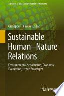 Sustainable Human   Nature Relations Book