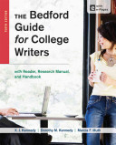 The Bedford Guide for College Writers with Reader  Research Manual  and Handbook Book