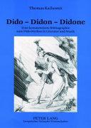 Dido - Didon - Didone ebook