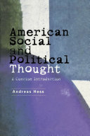 American Social and Political Thought Book PDF