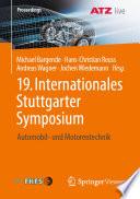 19  Internationales Stuttgarter Symposium Book