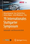 19. Internationales Stuttgarter Symposium [Pdf/ePub] eBook