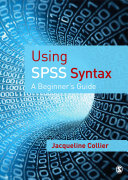 Using SPSS Syntax