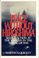 Peace Without Hiroshima Book PDF