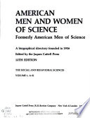 American Men and Women of Science