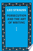 Persecution and the Art of Writing Book