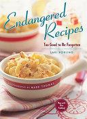 Endangered Recipes