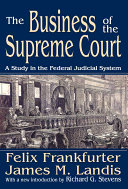 Pdf The Business of the Supreme Court Telecharger