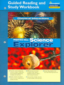 Prentice Hall Science Explorer Chemical Interactions Book