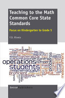 Teaching to the Math Common Core State Standards