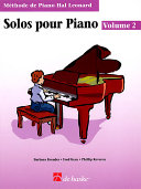 Piano Solos Book 2 - French Edition