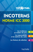 Top'Actuel - Incoterms - Norme ICC 3000