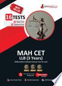 Maharashtra Common Entrance Test  MAH CET  LLB UG  3 Year  Exam 2021   8 Full length Mock Tests  Solved    Preparation Kit for MH CET LAW LLB   2021 Edition