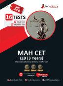 Maharashtra Common Entrance Test [MAH CET] LLB UG (3 Year) Exam 2021 : 8 Full-length Mock Tests [Solved] | Preparation Kit for MH-CET LAW LLB | 2021 Edition Pdf/ePub eBook