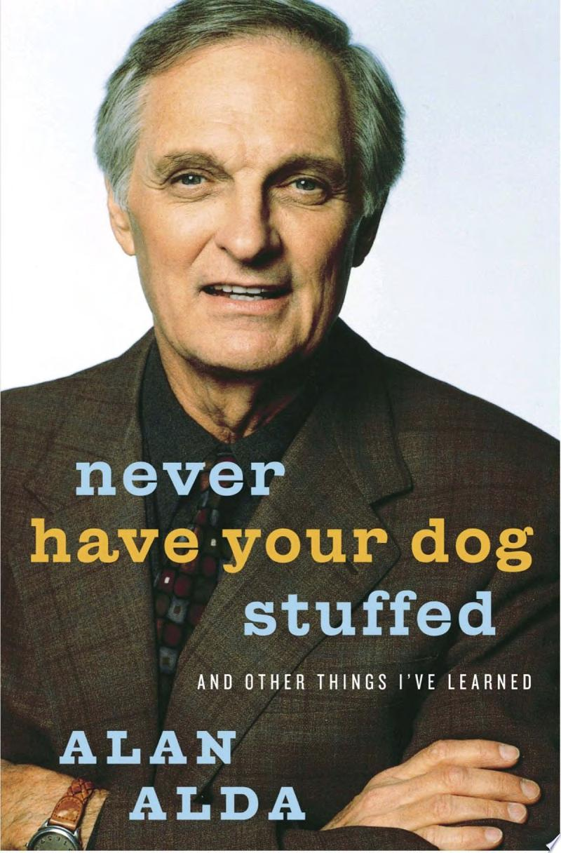 Never Have Your Dog Stuffed
