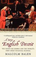 A Very English Deceit