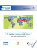 Taking Into Account Environmental Water Requirements in Global scale Water Resources Assessments Book