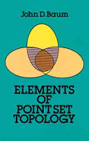 Elements of Point Set Topology