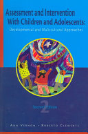 Assessment and Intervention with Children and Adolescents