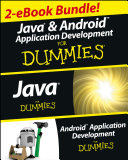 Java and Android Application Development For Dummies eBook Set