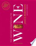 The Oxford Companion to Wine Book