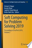 Soft Computing For Problem Solving 2019